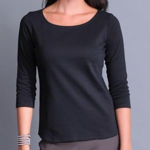 Eileen Fisher 3/4 Sleeve Top